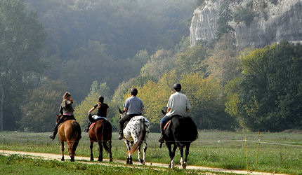 Horse Riding trips in the Vezere Valley Dordogne