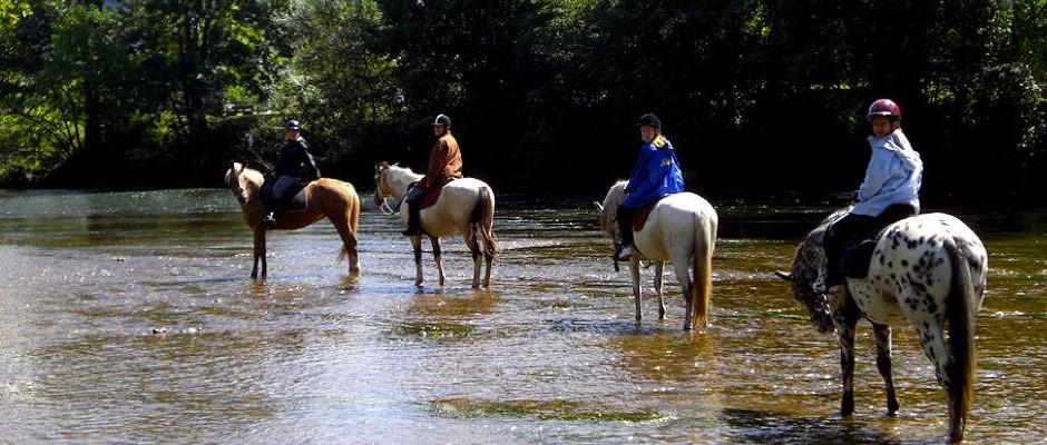 horse riding Perigord