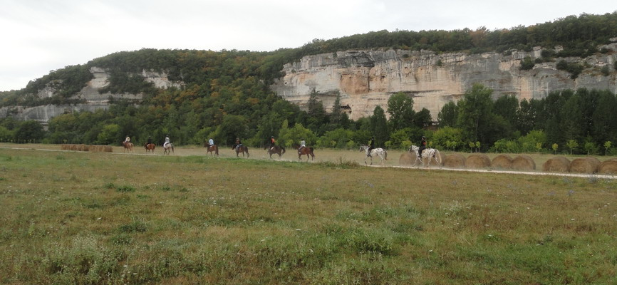 balades à cheval d'une heure
